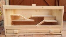 Käfige-Spaliere für Klein- & Nagetiere aus Holz