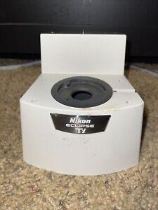 Nikon Eclipse TI-E Microscope Trinocular Port Ti-T-B