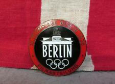 Vintage 1936 Berlin Olympic Games Original Film Dept Press Pin Badge Red edition