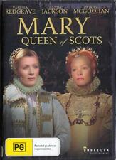 MARY QUEEN OF SCOTS - VANESSA REDGRAVE - NEW&SEALED REGION 4 DVD FREE LOCAL POST