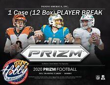 Philip Rivers COLTS 2020 Prizm Football HOBBY 1 Case (12 Box) PLAYER Break