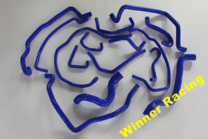 For Renault 5/R5 GT Turbo Phase 2 1988-1991 Silicone Water/Coolant Hose Blue