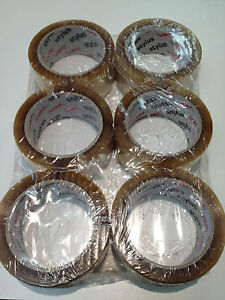 Packing Tape Clear 48mm x 75mm