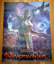 DUNGEONS & DRAGON NEVERWINTER sdcc 2013 Exclusive Game Poster