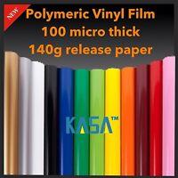 NEW KASA Plotter Cutter VINYL Polymeric ROLL PVC DESIGN FILM 140g Paper 610mmx9m