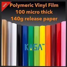 Plotter Cutter VINYL Polymeric ROLL PVC DESIGN FILM Paper 0.6m X 9m UV Outside