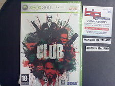 THE CLUB XBOX 360 PAL ITA NUOVO SIGILLATO