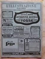 """Settimanale """"L'illustrazione Italiana"""" - 1911 n° 2"""