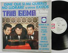 Trio GEMA de GUICHO CISNEROS LP Dime QUE SI ME QUIERES mexico