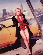 Debbie Harry Blondie Car Pose 10x8 Photo