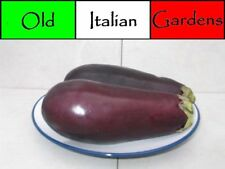 40 Black Beauty Eggplant Seeds Beautiful Garden Plant with Many Culinary Uses