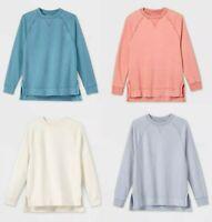 Women's Crewneck Fleece Tunic Sweatshirt - Universal Thread™ - Colors - Sizes