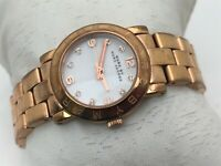 Marc by Marc Jacobs Women Watch Gold Tone Analog Water Resistant 5 ATM