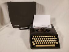 Vintage 1967 Adler Tippa S Portable Typewriter With Case ~ Made in West Germany