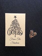 Décorations de table de Noël marron pour la maison