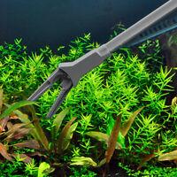 US Aquarium Fish Tank Long Water  Clean Tool Feeding Clip Tweezer Pliers LJ