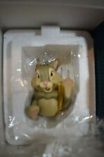 WDCC Disney THUMPER/PAN-PAN Belly Laugh Ornament Bambi  NEW COA & Box (1119J)
