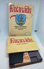 FAXANADU NES NINTENDO GAME COMPLETE IN BOX CIB NEAR MINT WITH INSERTS
