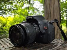Canon T3i / 600D 18.0 MP DSLR With EF-S IS II 18-55mm Lens  (2 LENSES) + Tripod!