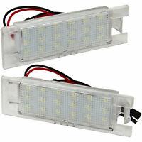 Kennzeichenbeleuchtung LED für OPEL Adam | Ampera | Astra H + J + K | 71001