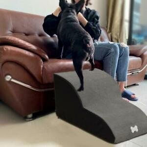 Portable Sponge Stairs Soft Steps Ramp Dog Doggy Ladder Cover Puppy Washable Pet