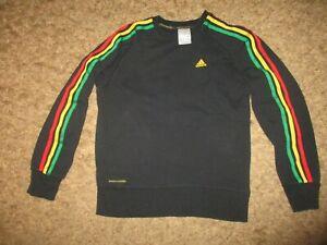 ADIDAS vintage RASTA oldschool tracksuit sweatshirts retro cotton