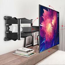 """TV Wall Mount Bracket Tilt Swivel For 32 37 39 40 42 46 47 50 55 60 65""""  Inch"""