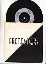 "THE PRETENDERS "" BRASS IN POCKET  "" 45 TOURS 3 TITRES .1979  Real -UK"