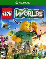 LEGO Worlds for Microsoft Xbox One Brand New Factory Sealed Local Co-Op
