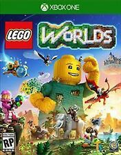 Lego Worlds Xbox game works for One Xbox One S or Xbox One X Console New Sealed