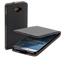 Eco Flip-Style Case für Huawei Y7 Etui Schutz Hülle Protect Tasche schwarz black
