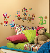 Jake and the Neverland Pirates Peel & Stick Wall Decals Sticker - 10x18