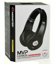Monster  Headphones  MVP Carbon Gaming Headset by EA Sports (Black)