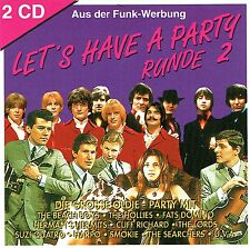 (2CD's) Let's Have A Party Runde 2 - Harpo, Racey, The Lords, Gary Glitter,u.a.