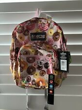NEW TRANS BY JANSPORT BACKPACK - DONUTS DESIGN - free shipping