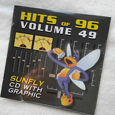 Karaoke cd+g disc Sunfly Hits Vol 49, see Descript 15 tracks/artists