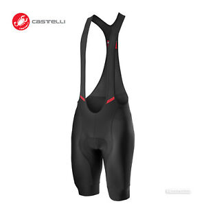 NEW 2021 Castelli COMPETIZIONE Cycling Bib Shorts : BLACK