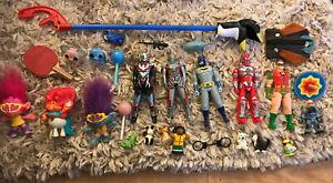 Toy Figure Trolls Superhero Animal Lollipop Boys Girls Nursery School Bundle