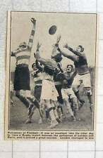 1923 London Police Play Paris Police At Rugby