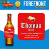 Personalised Beer/Lager Spoof bottle labels- Great Birthday/Wedding Gift/Present