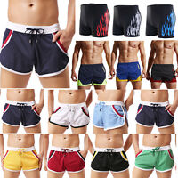 Men Summer Swim Shorts Swimwear Trunks Beachwear Underwear Boxer Briefs Pants