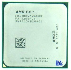 AMD FX-6100 3.3GHz Six Core (FD6100WMW6KGU) Processor w/Grease