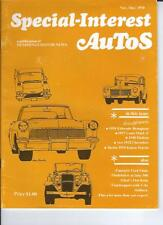 Hemmings SPECIAL INTEREST AUTO -SIA  VOL 1, #2 The Second issue