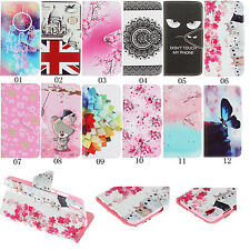 Magnetic Flip Cover Card Wallet Leather Case Pouch Stand For Smart cellphones
