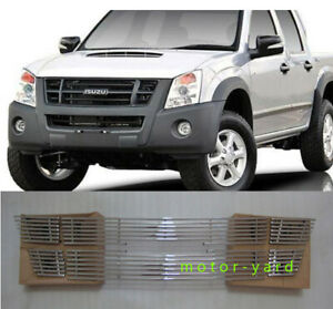 Billet Grille Grill for Isuzu D-max Dmax 2007 to 2011