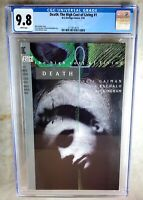 Death The High Cost of Living #1 D.C. Vertigo 1993 CGC 9.8 NM/MT WP Comic H0049