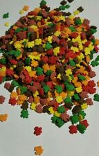 Edible sprinkles, autumn leaves, party, cupcake decorating 80 grams