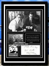 More details for (70) the kray twins ronnie & reggie signed unframed/framed photograph (reprint