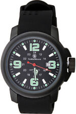 Smith & Wesson Men's Amphibian Commando Watch. Black stainless casing. Black fac