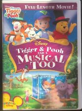 My Friends Tigger, Pooh and a Musical Too DVD Fast Shipping